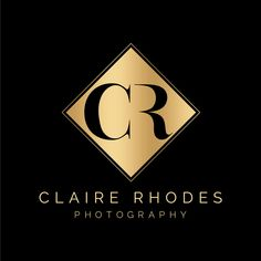 Logo Design: Claire Rhodes Photography by Big Cat Creative | Visit www.bigcatcreative.com | Logo Design | Modern Logo Design | Minimal Logo Design | Logo Design INspiration | Logo Design Branding | Creative Brand Design Inspiration | Monogram Design | Luxury Logo Design | Classy Logo Design | Photography Logo Design | Minimalist Logo Design | Pretty Logo Design | Feminine Logo Design | Gold Logo Design | Small Business Logo Design | Logo Design Trends | Logo Designer...