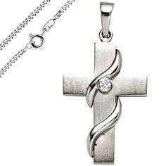 Crosses, Silver, Schmuck, Women's