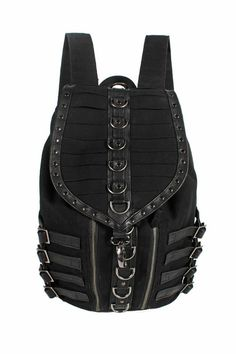 black backpack by katyadesu on Etsy, $240.00