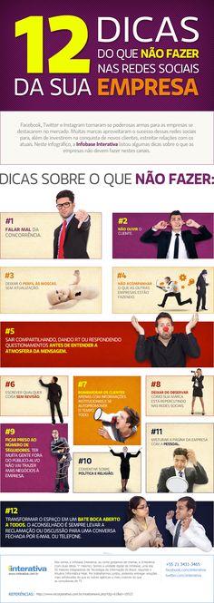 12 dicas do que não fazer nas redes sociais da sua empresa - Plugcitários - Plugcitários