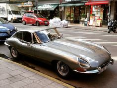 E type Jaguar in Stockholm E Type, Sport Cars, Stockholm, Jaguar, Bmw, Photo And Video, Beautiful, Instagram