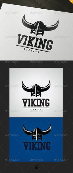 Viking Studios Logo  #GraphicRiver        Viking Studios – Logo Template  	 This logo design for gamer,games application services,games and apps developers,clean and modern Creative Studio logo template.  Logo Template Features   AI and EPS (Illustrator 10 EPS) 300PPI  CMYK  100% Scalable Vector Files  Easy to edit color / text  Ready to print  Used Free Font (Link Included Main Download) My Logo Templates Designs     	 If you buy and like this logo, please remember to rate it. Thanks…