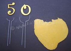 Tortentantes Tortenblog - DER Tortenblog mit Anleitungen und Tipps für Motivtorten: Buchstaben und Zahlen Beine machen...