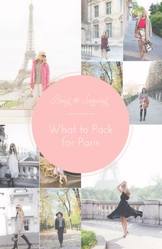 What to Pack for Paris   bows & sequins