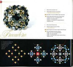 schemi x anelli - Virna Perlaverde - Picasa Web Albums Beading Patterns Free, Beaded Jewelry Patterns, Beaded Brooch, Beaded Rings, Beading Projects, Beading Tutorials, Ring Tutorial, Diy Rings, Bead Weaving