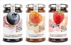 Creative Jam Jar Labels 2 25 Sweet Jam Jar Labels  Packaging Design Ideas