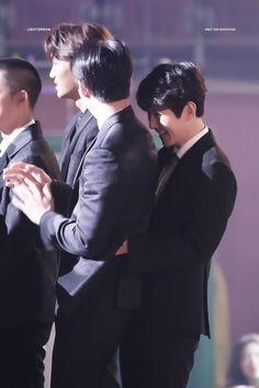 Cre: the owner/as logo Exo Ot12, Chanbaek, Chanyeol, Kyungsoo, Exo Couple, Kim Min Seok, Do Kyung Soo, Kim Jong In, Kpop