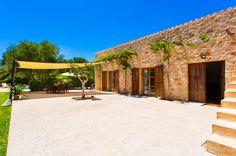"""Finca Finca """"Ca Meva"""" hat einen schönen Garten mit Pool und ist Ideal zum mieten für Paare. Die verfügt über 2 Schlafzimmer + 1 Bad &#10020 Strandnahe Lage"""
