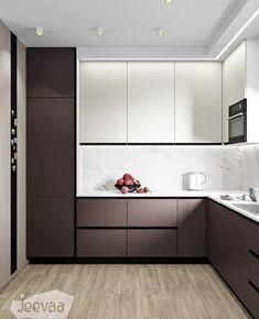 Luxury Kitchen Design, Kitchen Room Design, Best Kitchen Designs, Kitchen Cabinet Design, Kitchen Layout, Home Decor Kitchen, Interior Design Kitchen, Kitchen Modular, Kitchens And Bedrooms