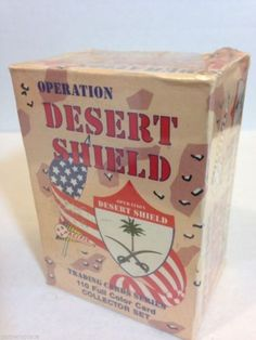 Operation Desert Shield Trading Cards Collector Set