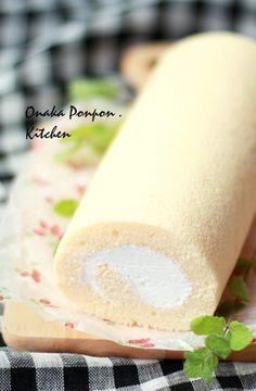 生クリーム♪ロールケーキ