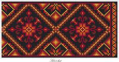Sølvi's; Ett mønster fire fargekombinasjoner. | Vevstua Bull-Sveen