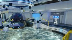 Steam Community :: :: Prototype Seamoth Upgrade Console Research Lab, Zaha Hadid, Minecraft, Console, Sci Fi, Gaming, Community, Architecture, Science Fiction