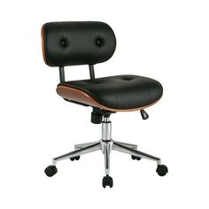 Looks great and is currently only $179. Concourse Office Chair in Black