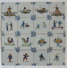 Makkummer aardewerk tichelaar tegels tiles pinterest for Tichelaar makkum tegels