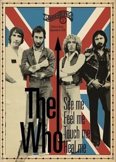 The Who Concert Poster https://www.facebook.com/FromTheWaybackMachine