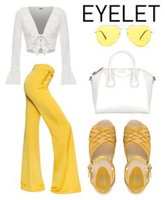 """Untitled #428"" by fashioncoolture ❤ liked on Polyvore featuring WearAll, Balmain, Ana Lublin, Givenchy and Sunny Rebel"