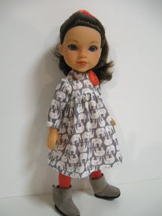Hearts 4 Hearts Doll Clothes Elephants on by 123MULBERRYSTREET, $23.00