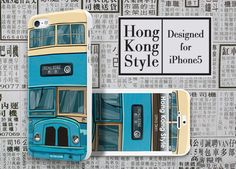 Apple Iphone5 Designer Case Hong Kong Style