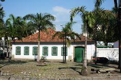 Rio de Janeiro, Brasil - Museu da Limpeza Urbana (antiga Casa de Banho D. João VI, no Caju)