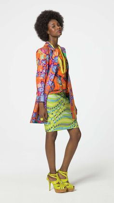 Vlisco That's for you Summer 2016 African Fashion African Inspired Fashion, African Print Fashion, Tribal Fashion, Bold Fashion, Modern Fashion, Fashion Prints, High Fashion, African Prints, Fashion Design