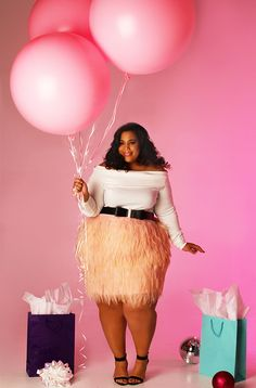 Plus size fashion article on the launching of plus size line Garnerstyle for Rebdolls Look Plus Size, Plus Size Girls, Plus Size Fashion Blog, Plus Size Fashion For Women, Thick Girl Fashion, Curvy Fashion, Plus Size Outfits, Plus Size Dresses, Garner Style