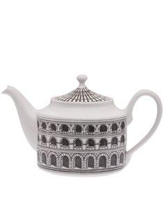 Fornasetti Architettura Ceramic Teapot | Teapots by Fornasetti | Liberty.co.uk