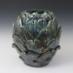 Kate Malone: Large Blue Artichoke
