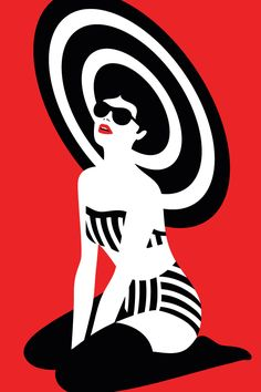 Pin Up - Giclee print. 420×297 mm.  Printed on Archival paper and signed by the artist.