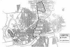Mapa do Metrô de Teresina. Foto retirada do fórum skyscrapercity.com