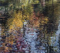 Glicee Print of an Original Water Reflection Oil by FeganFineArt, $400.00