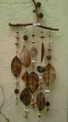 leaves in browns chime