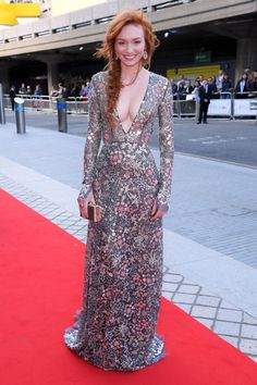 Eleanor Tomlinson, Holly Willoughby and a pregnant Jennifer Metcalfe lead red carpet glamour at BAFTA TV Awards 2017 - Mirror Online