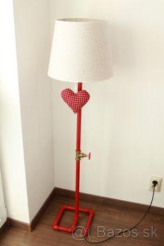 Originálna lampa v industriálnom štýle - 1