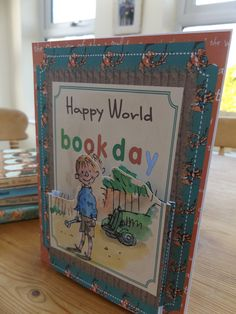 World Book Day,Danny Champion of The World Book,Roald Dahl book,birthday card Personalised Christmas Cards, Christmas Greeting Cards, Handmade Christmas, Roald Dahl Books, Champions Of The World, World Cancer Day, Little Girl Birthday, Handmade Birthday Cards, Winter Cards
