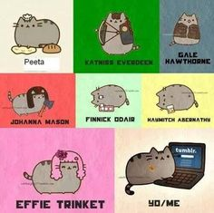 The Hunger Games Igrzyska Śmierci Catching Fire W Pierścieniu Ognia Mockingjay Kosogłos Pusheen