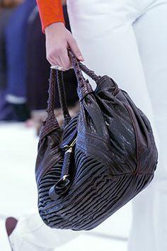 Fendi Spring 2005 brown Spy bag