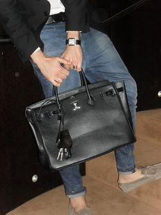 All Things Fashion Worthy: Hermés Birkin, for men? hermesbags-outlet.com $159 hermes handbags,hermes bags,hermes for you.