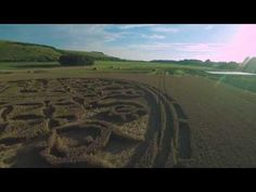 UFO Sightings Hotspot: Amazing drone footage shows awesome Crop Circle close to Wiltshire, UK