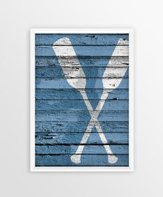 Nautical Paddle Print , Nautical Wall Art , Sea , Nautical Wedding ,Instant  Download,