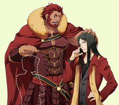 That's Waver in a few years as Lord El Melloi II