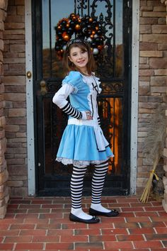 My little Alice (we bought her costume to compliment the Mad Hatter).