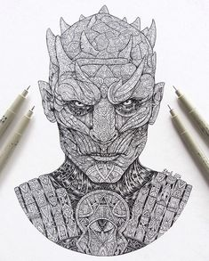 The Night's King: Awesome Drawing by VVVenla Like us on Facebook
