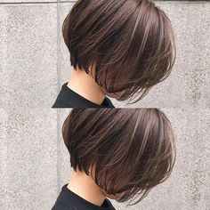 加納竜也 hair&make ボブ ショート ( Short Bob Hairstyles, Hairstyles Haircuts, Cool Hairstyles, Asian Short Hair, Short Hair Cuts, Cabello Hair, Shot Hair Styles, Hair Arrange, Hair Affair