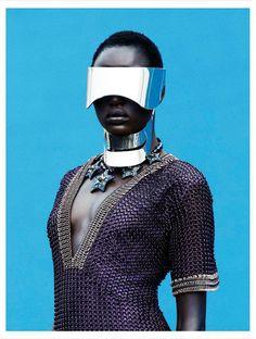 Ajak Deng by Julia Noni #afrofuturism