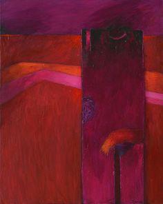 De la Serie Transhumantes, 2014 - Fernándo de Szyszlo (b. 1925)Fernándo de Szyszlo solo show: El Elogio de la Sombra (Elegy of the Shadow)