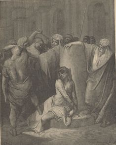 The Doré Gallery of Bible Illustrations University Of Adelaide, Flagellation, Library University, Bible Illustrations, Biblical Art, Ebooks, History, Gallery, Mary