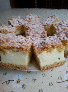 Az internet egyik kedvenc re ceptje. Hungarian Desserts, Hungarian Recipes, Sweet Desserts, No Bake Desserts, Dessert Recipes, International Recipes, No Bake Cake, Cake Cookies, Food To Make