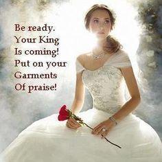 The best garment ever! Praise His Name! Jesus Christ!