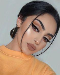 brunette Makeup Goals, Makeup Inspo, Makeup Inspiration, Makeup Tips, Beauty Makeup, Makeup Ideas, Huda Beauty, Makeup Tutorials, Dior Makeup